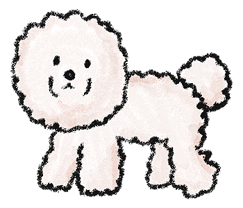 犬のイラスト(1)