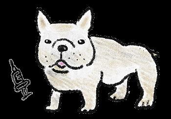犬のイラスト(2)