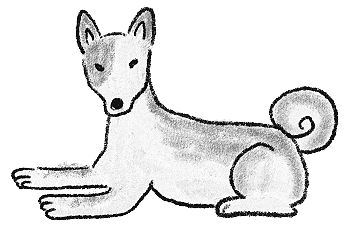 犬のイラスト(3)